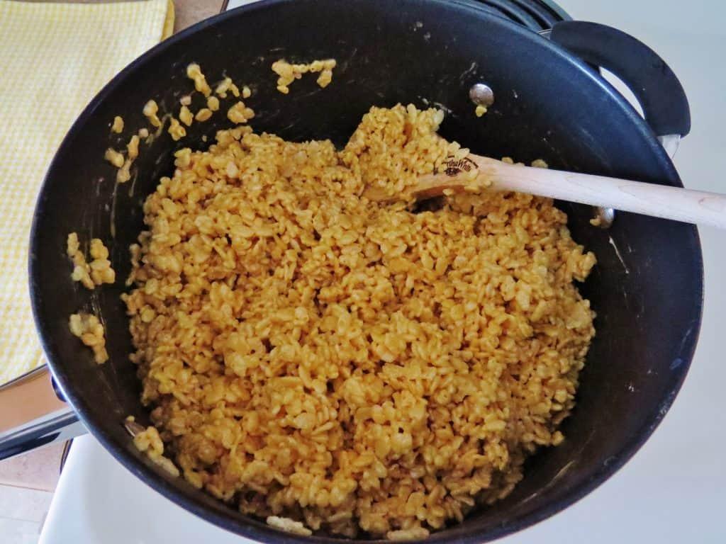 Peanut Butter Rice Krispies Treats