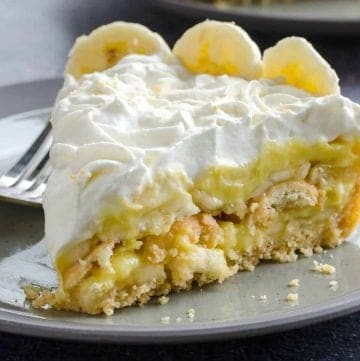 Homemade Banana Pudding Pie