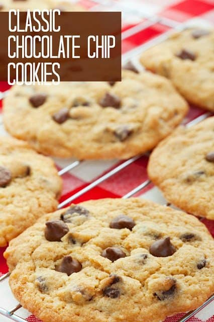 Classic Chocolate Chip Cookies recipe from The Country Cook