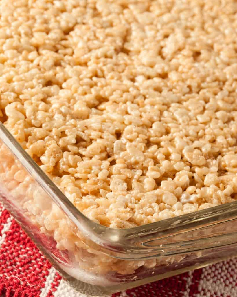 Peanut butter rice krispies treats the country cook for How do you make rice crispy treats