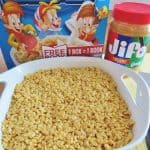 Peanut Butter Rice Krispies Treats
