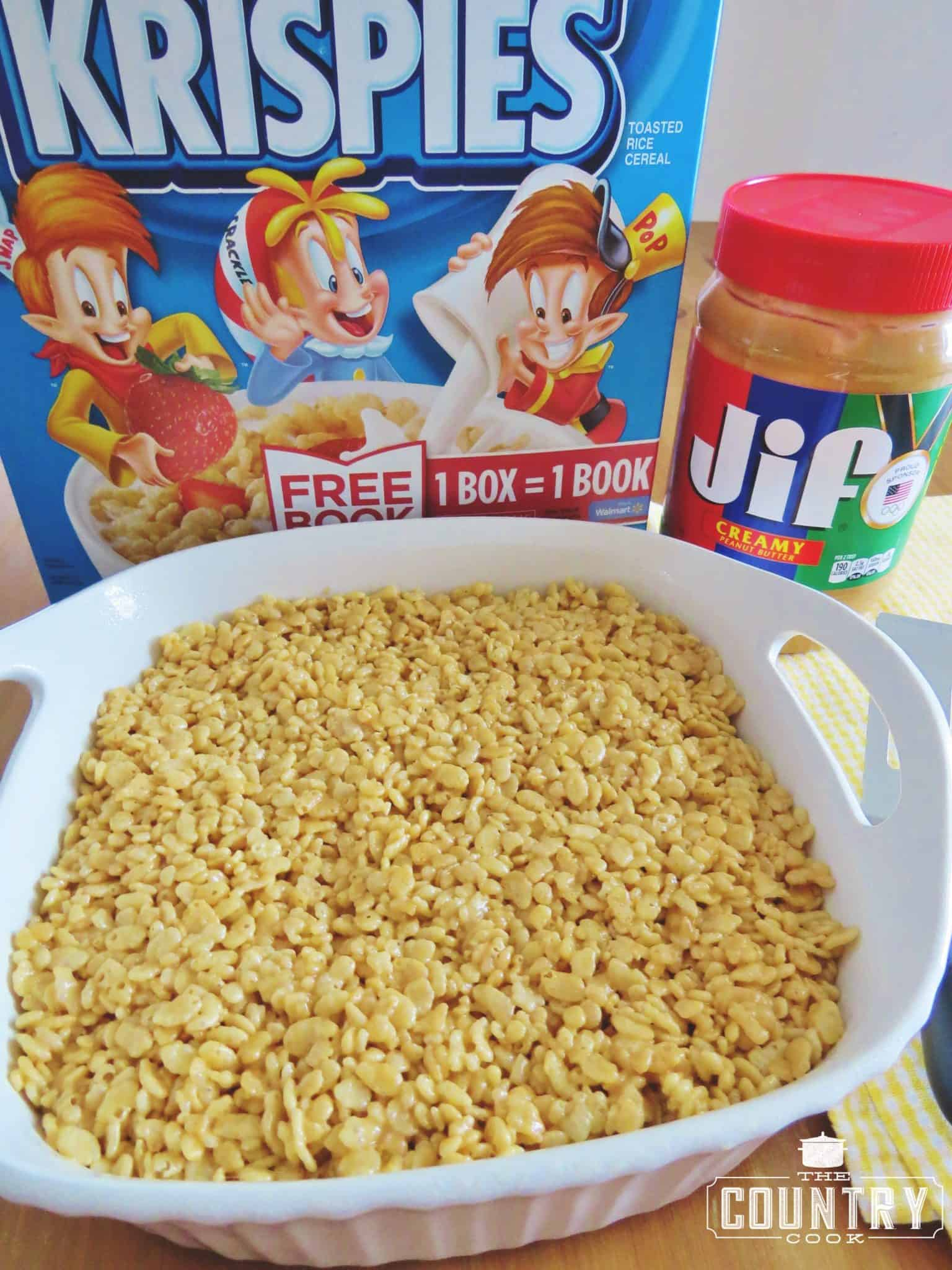 Peanut butter rice krispies treats the country cook peanut butter rice krispies treats ccuart Gallery