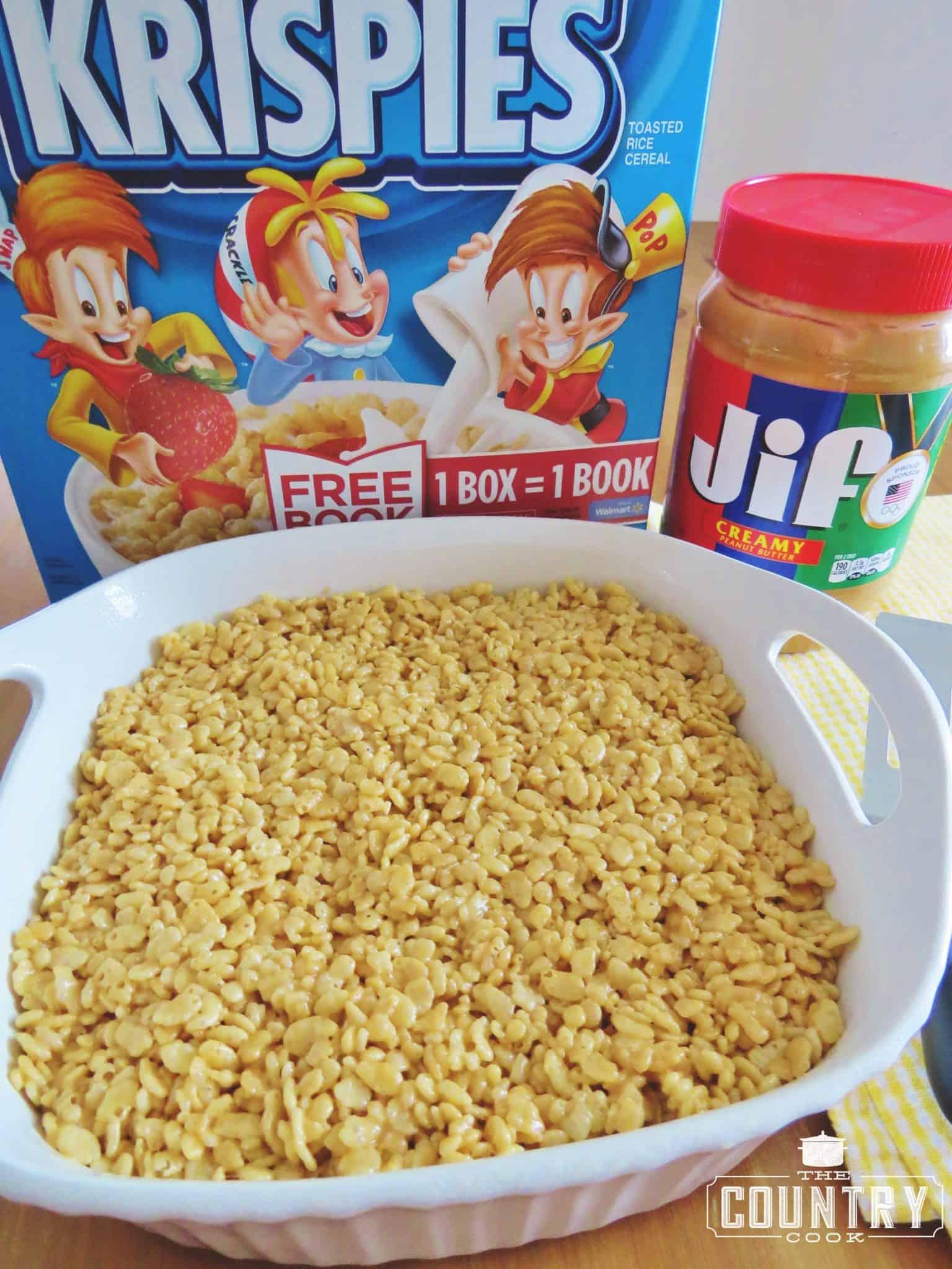 Peanut Er Rice Krispies Treats