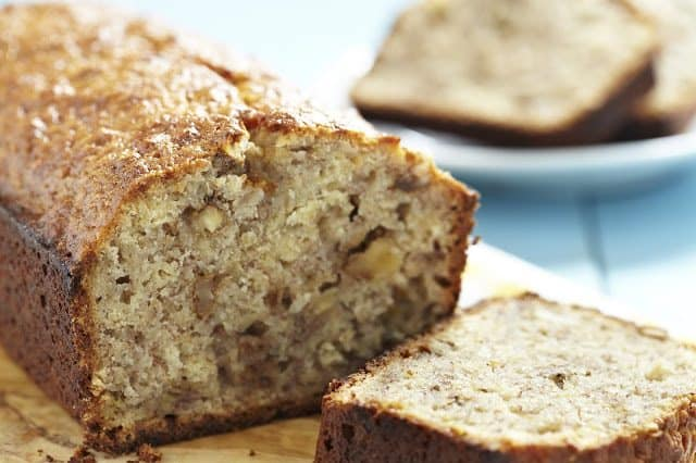 Banana Nut Bread recipe from The Country Cook