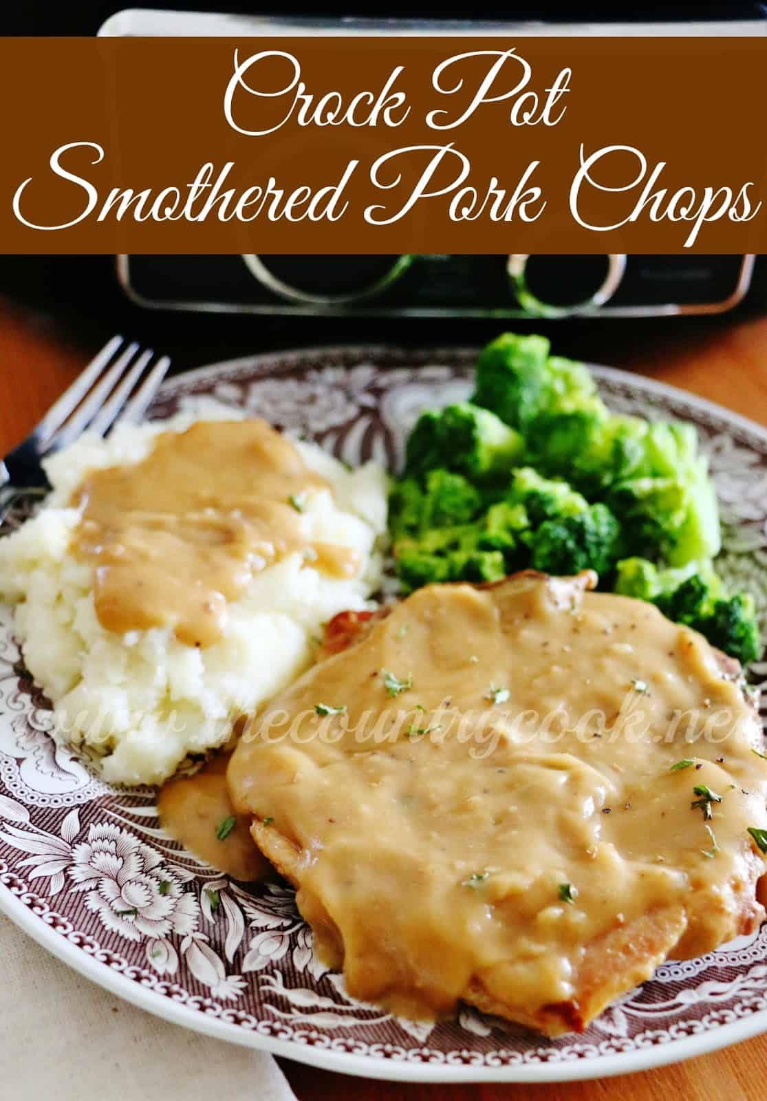 Gravy recipes for pork chops