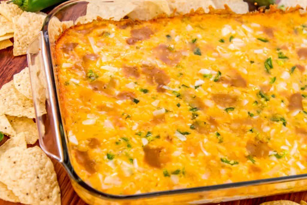 Hot Corn & Black Bean Dip | Game Day Recipe! | Moms Need ... |Warm Bean Dip Recipe