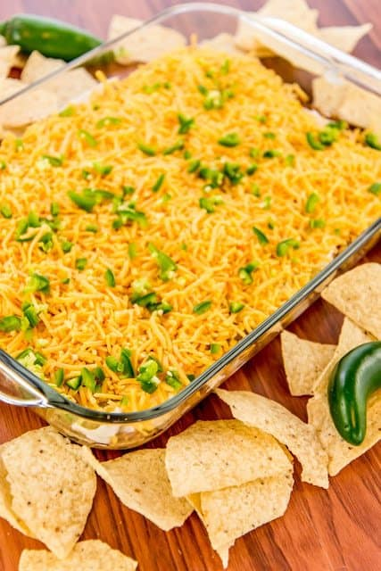 Warm Bean Dip recipe from The Country Cook