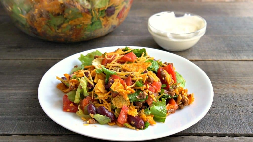 tossed Dorito Taco Salad
