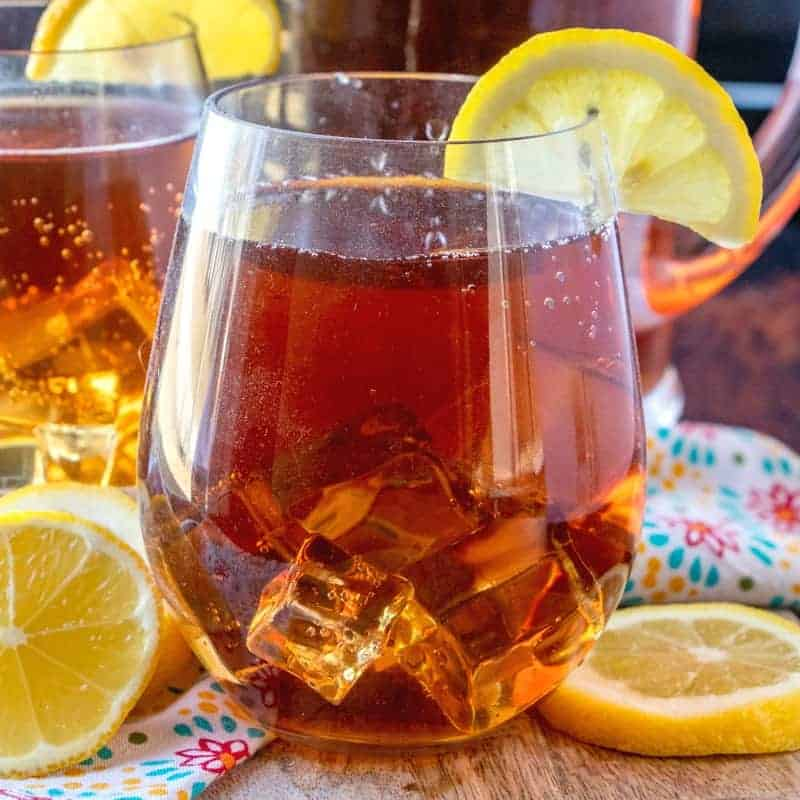 Homemade Southern Sweet Tea Video The Country Cook