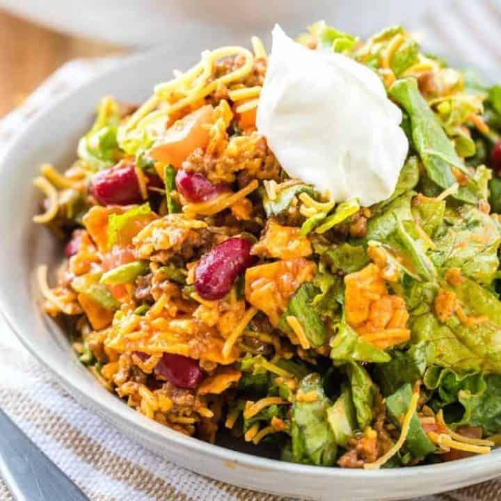 Doritos Taco Salad recipe