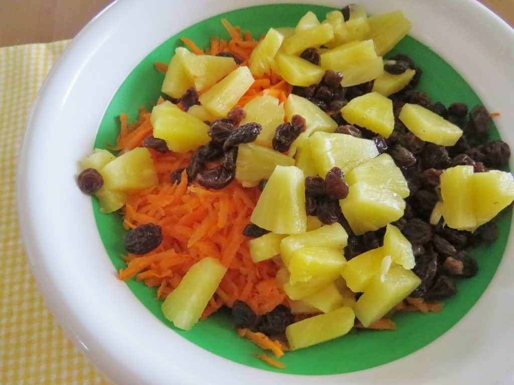 Classic Carrot Raisin Salad