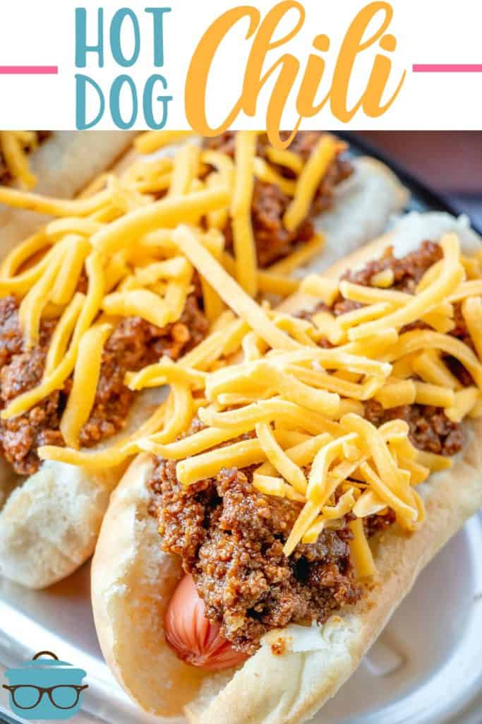 The Best Homemade Southern Style Hot Dog Chili recipe from The Country Cook
