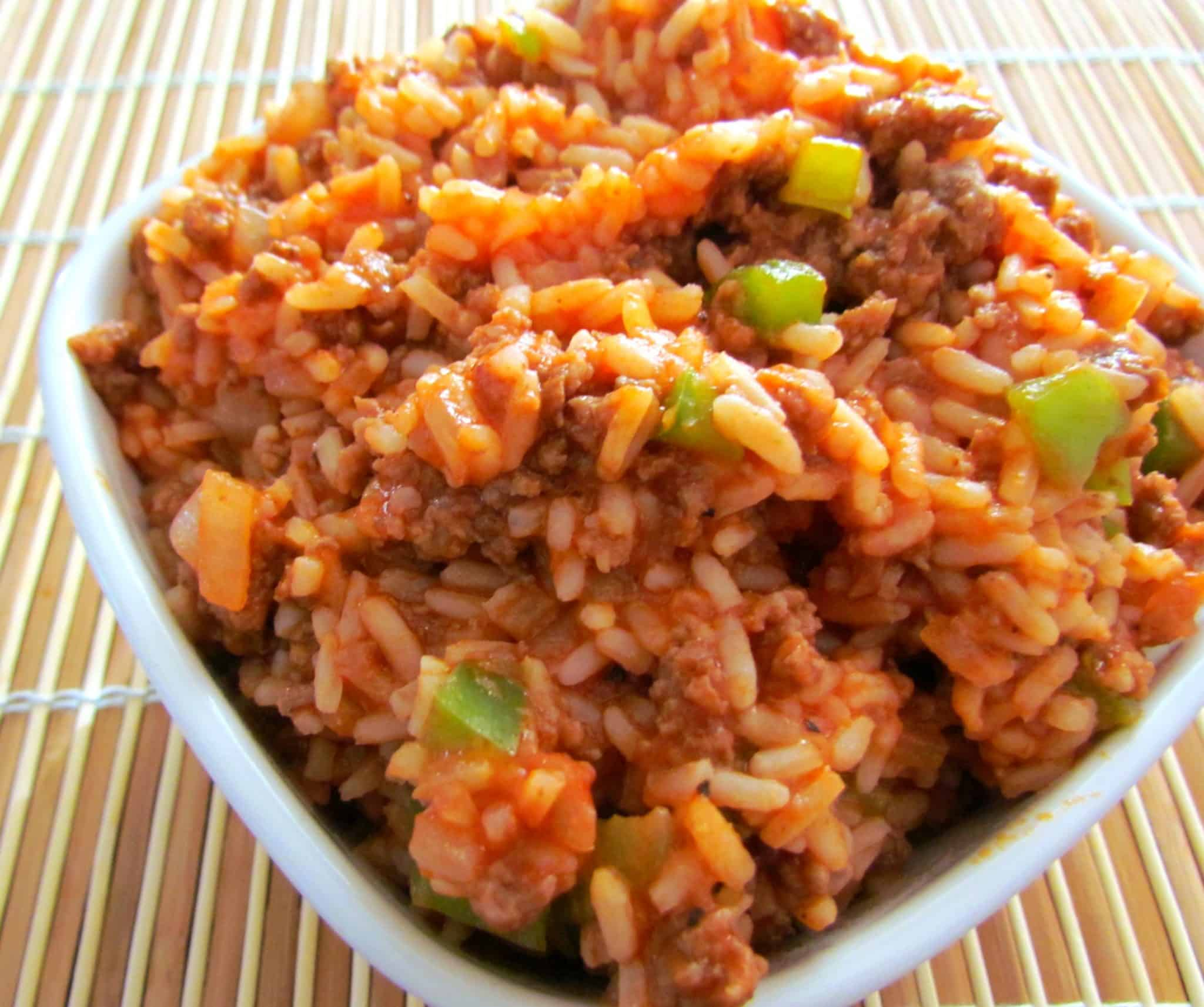 Spanish Style spanish-style rice - the country cook