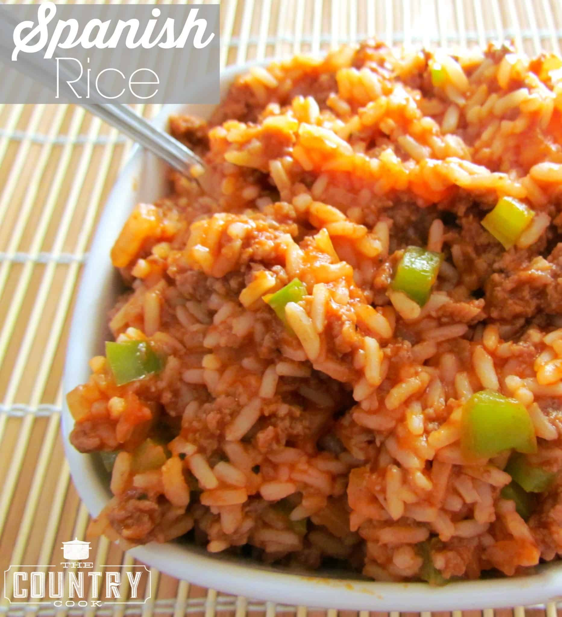 Spanish style rice the country cook spanish rice ccuart Choice Image