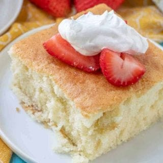 Hot Milk Sponge Cake recipe
