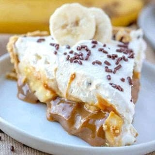 Easy No-Bake Banoffee Pie recipe