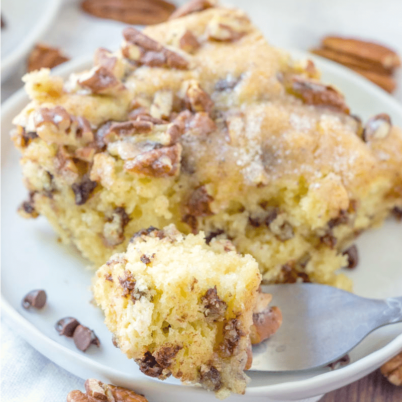 Chocolate Chip Pancake Coffee Cake recipe