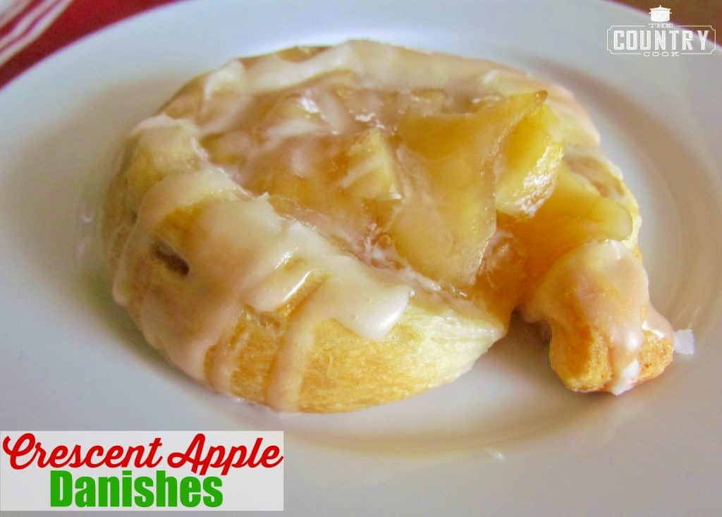 Crescent Apple Danish
