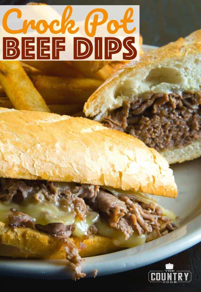 Crock Pot Beef Dips