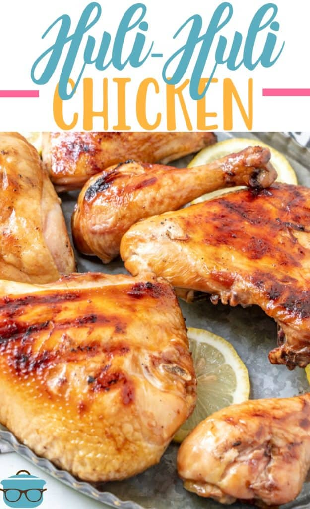 Huli Huli Chicken recipe from The Country Cook