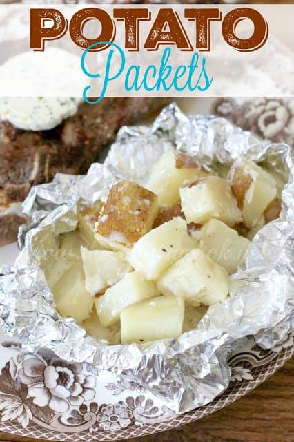Grilled Potato Packets recipe from The Country Cook