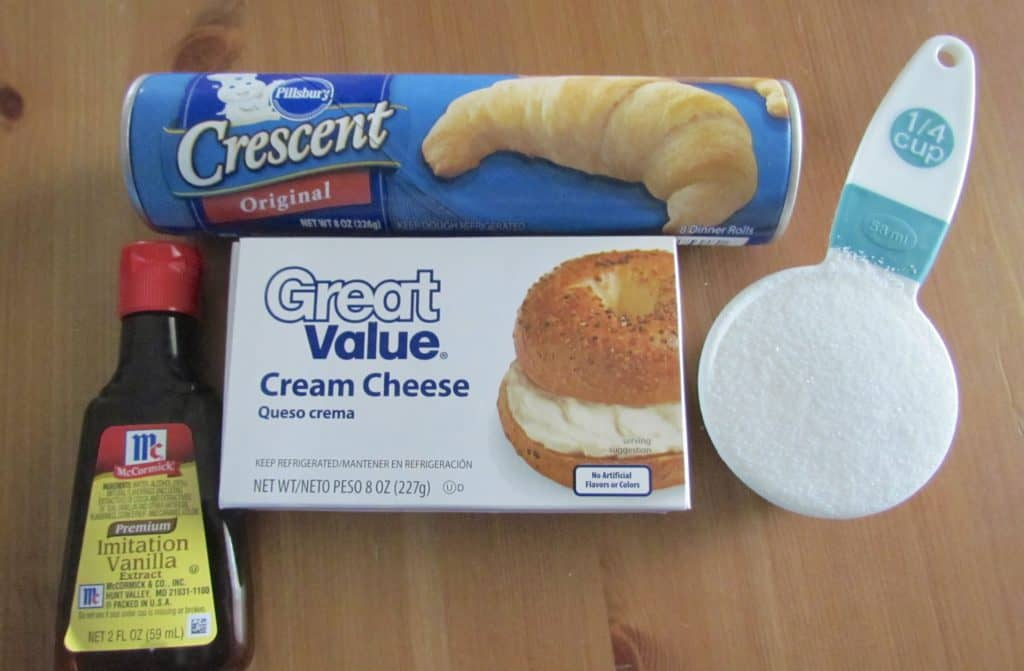Crescent Cheese Danish