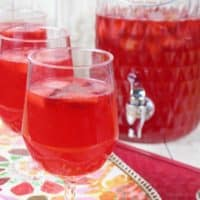 Sparkling Strawberry Punch - Non-Alcoholic