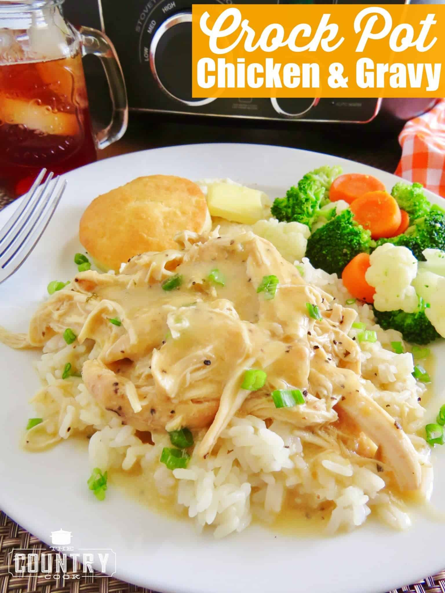 Crock pot chicken and gravy copyright the country cook crock pot chicken and gravy recipe from the country cook forumfinder Images