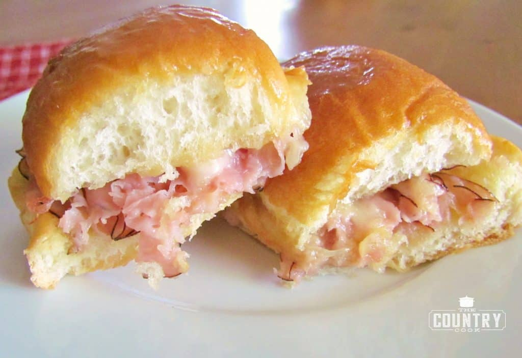 Hawaiian Ham and Cheese Rolls