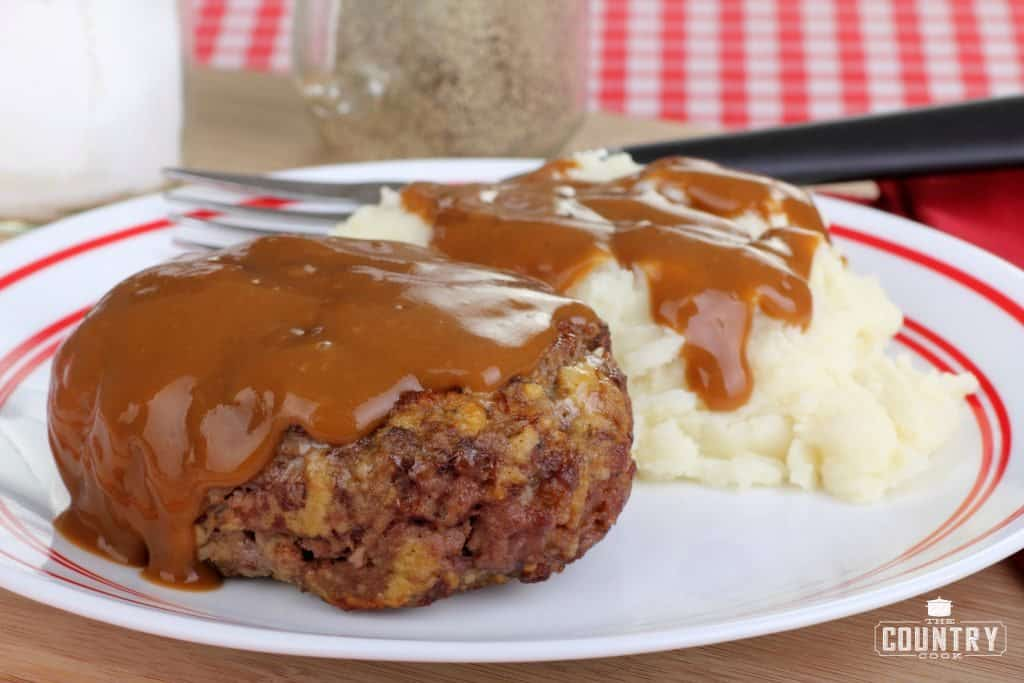 Hamburger Steaks and Gravy