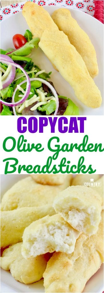 Olive Garden Breadsticks, pinterest - The Country Cook