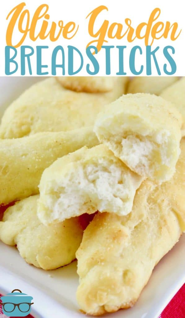 Olive Garden Garlic Breadsticks recipe from The Country Cook