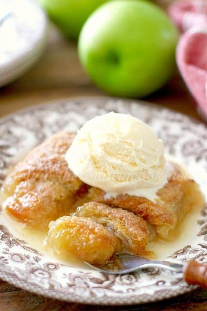 Easy Apple Dumplings recipe from The Country Cook