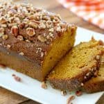 Pumpkin Bread with Brown Sugar Glaze
