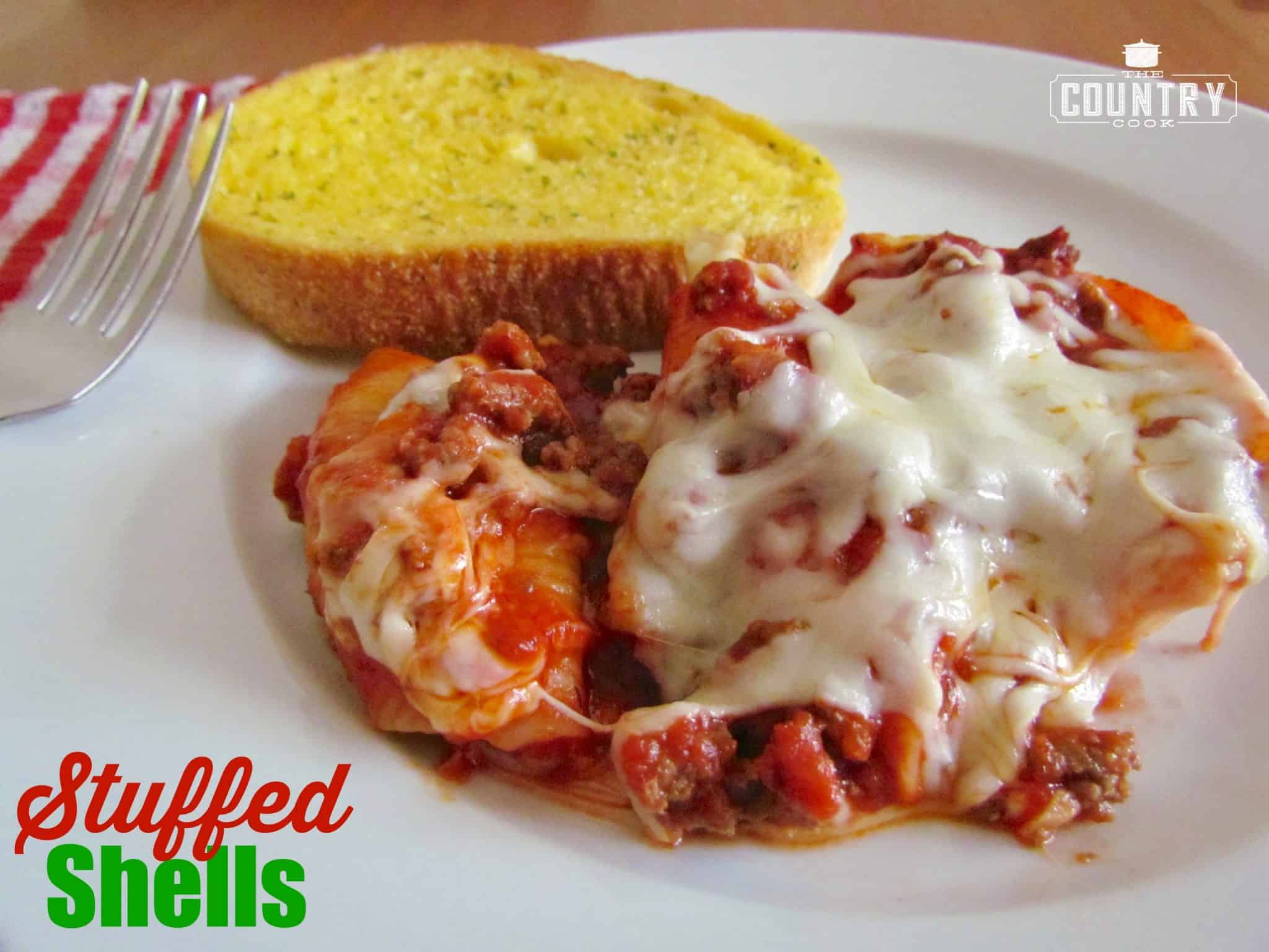 Stuffed Shells - The Country Cook