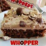 Whopper Cake ~ Malted Milk Ball Cake