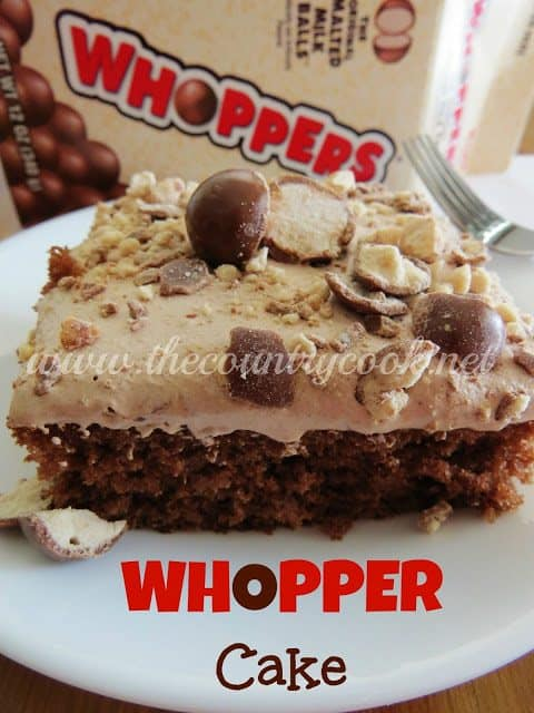 Whopper Cake Malted Milk Ball Cake The Country Cook