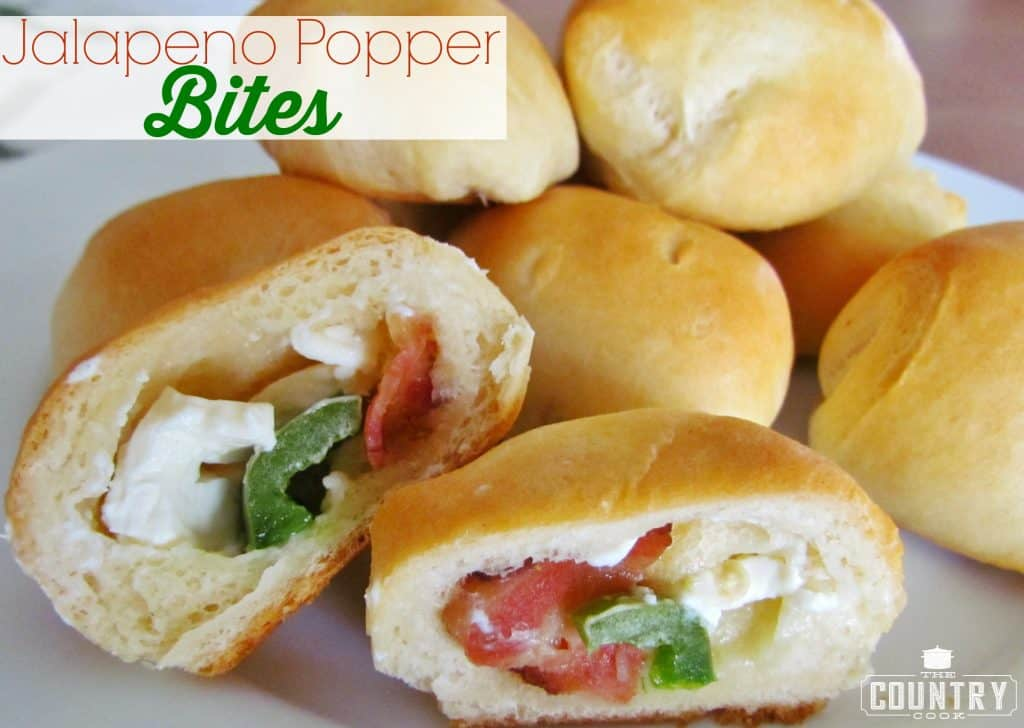 Jalapeno Popper Bites recipe from The Country Cook
