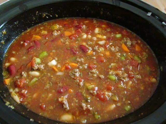 Crock Pot Olive Garden Pasta E Fagioli Soup The Country Cook