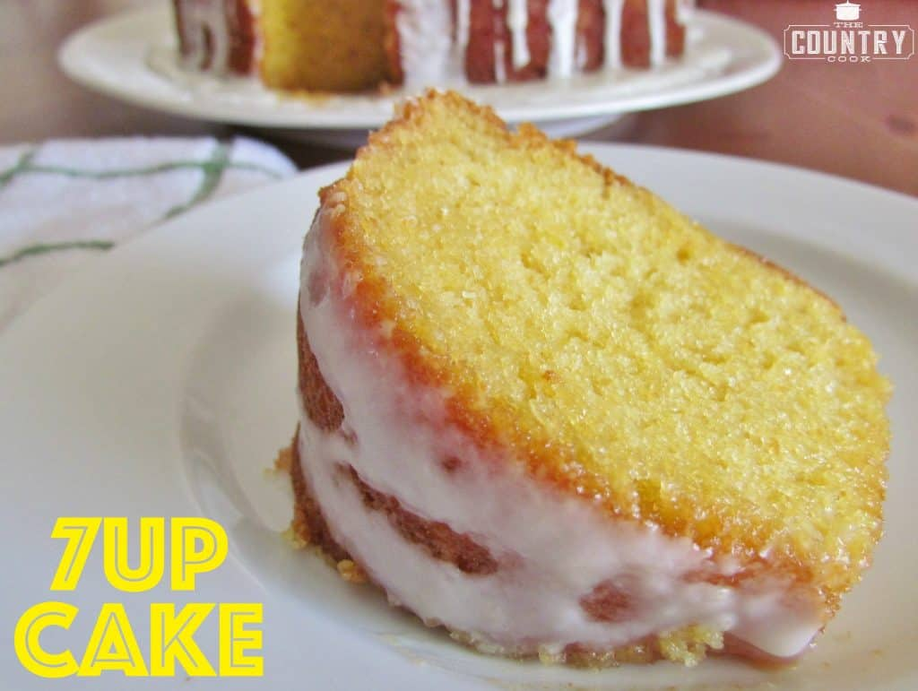 7up Cake recipe from The Country Cook