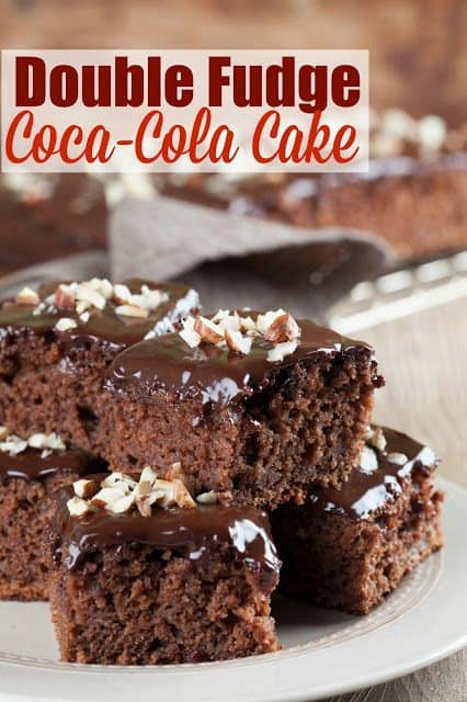 Simple Chocolate Cake Cups Coca Cola