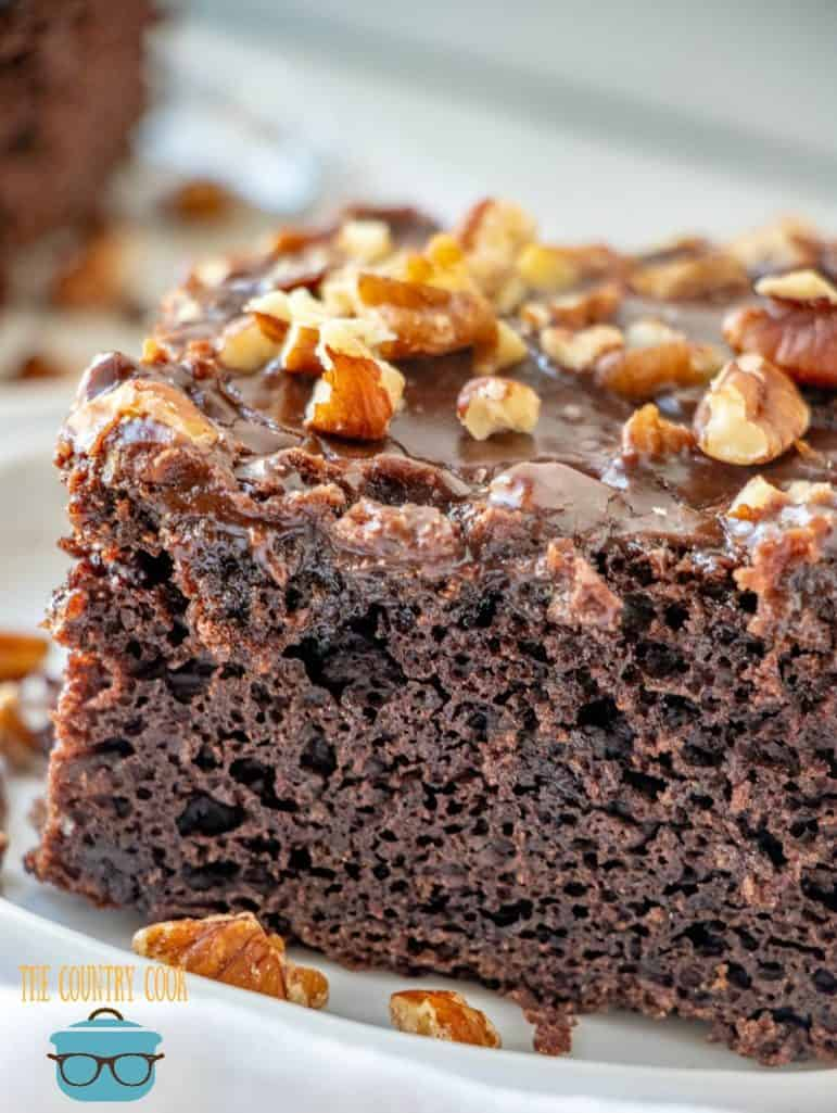 Cracker Barrel Double Fudge Coca Cola Cake recipe