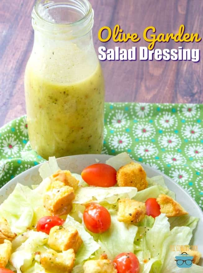 Olive Garden Salad Dressing - The Country Cook