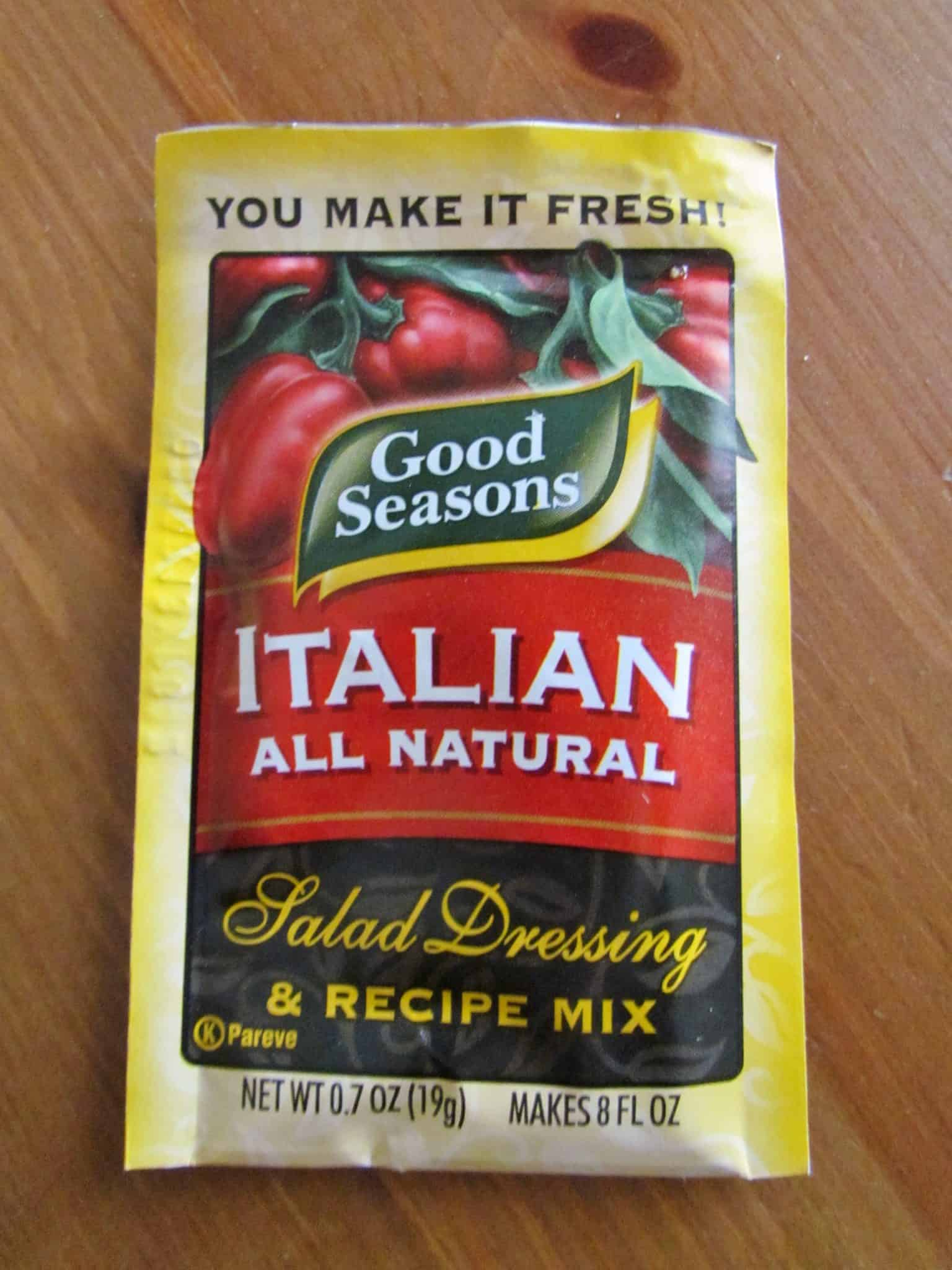 Red Italian Salad Dressing