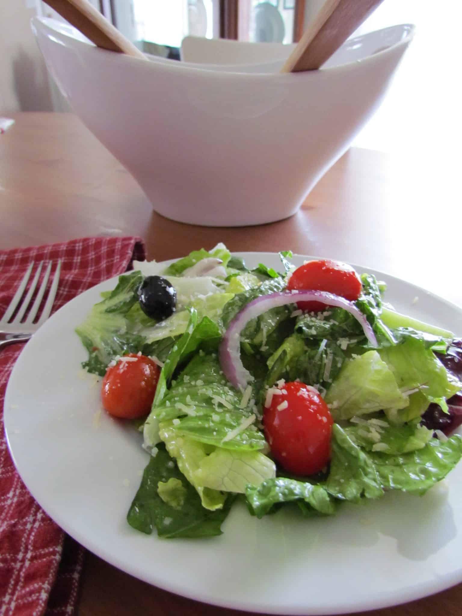 olive garden salad dressing - Olive Garden Salad