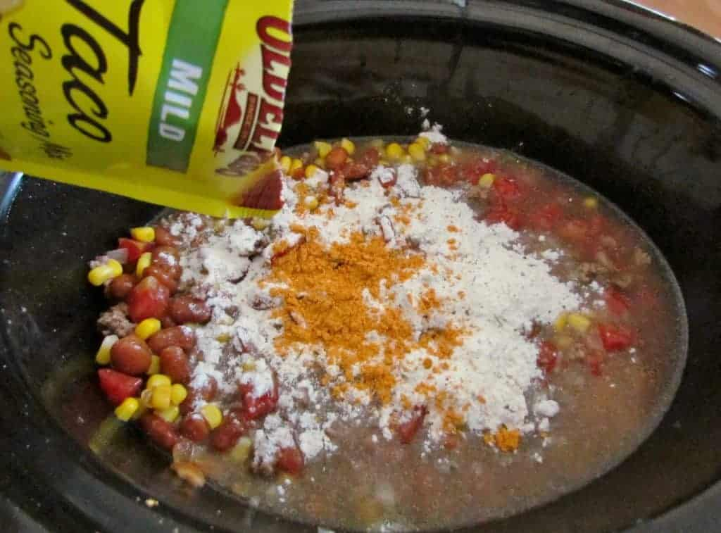 taco seasoning, taco soup