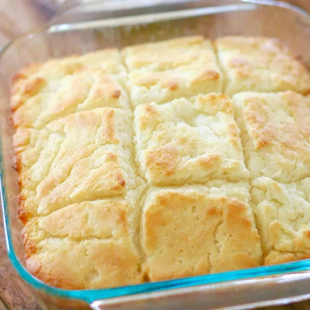 Easy Butter Dip Buttermilk Biscuits recipe