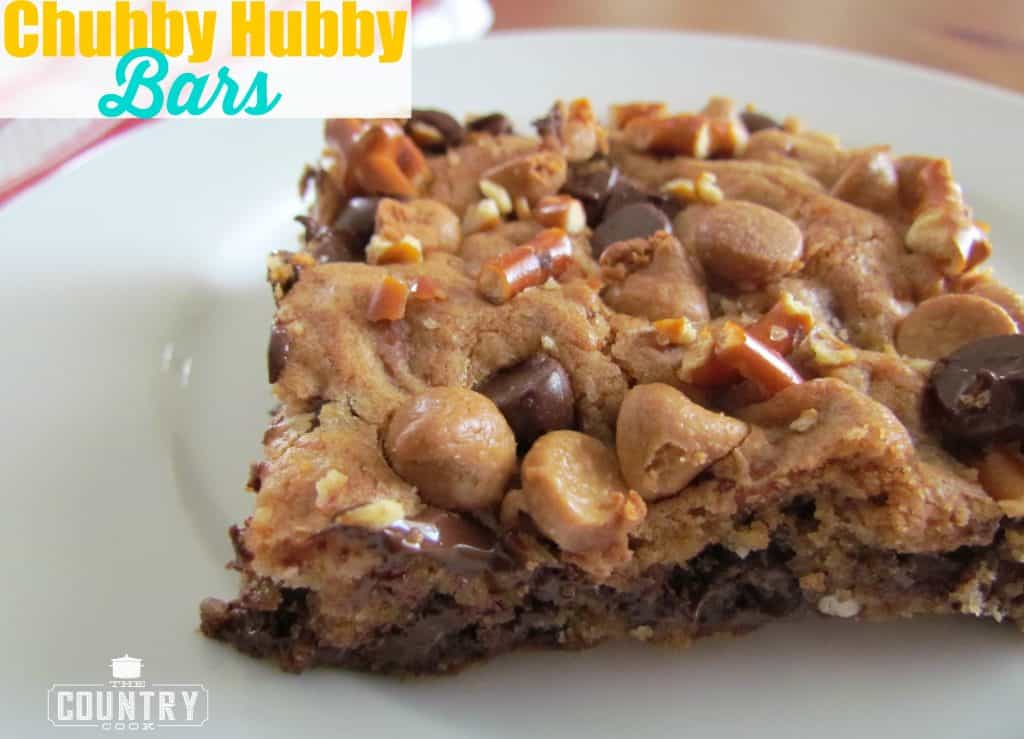 Chubby Hubby Bars recipe from The Country Cook