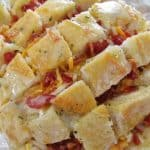 Cheesy Bacon Ranch Pull-Apart Bread
