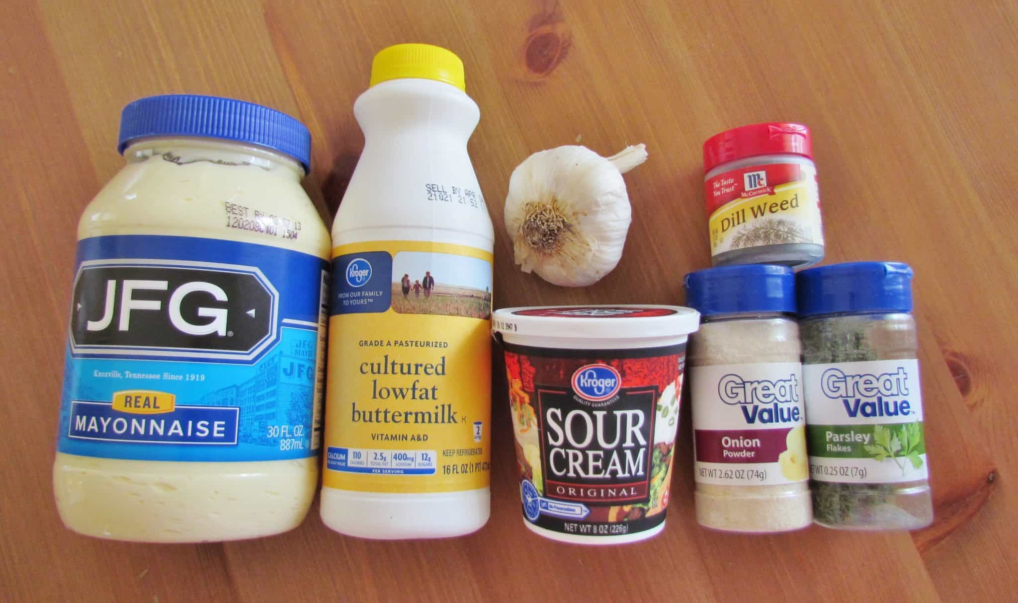 Homemade Ranch Dressing - The Country Cook